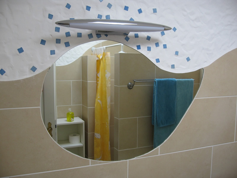 Bathroom, Badezimmer, Baño,- MEN AT WORK Lanzarote