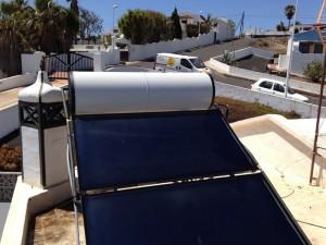Thermische Solaranlage Lanzarote