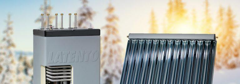 Almacenamiento solar en capas